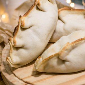Empanada champiñones